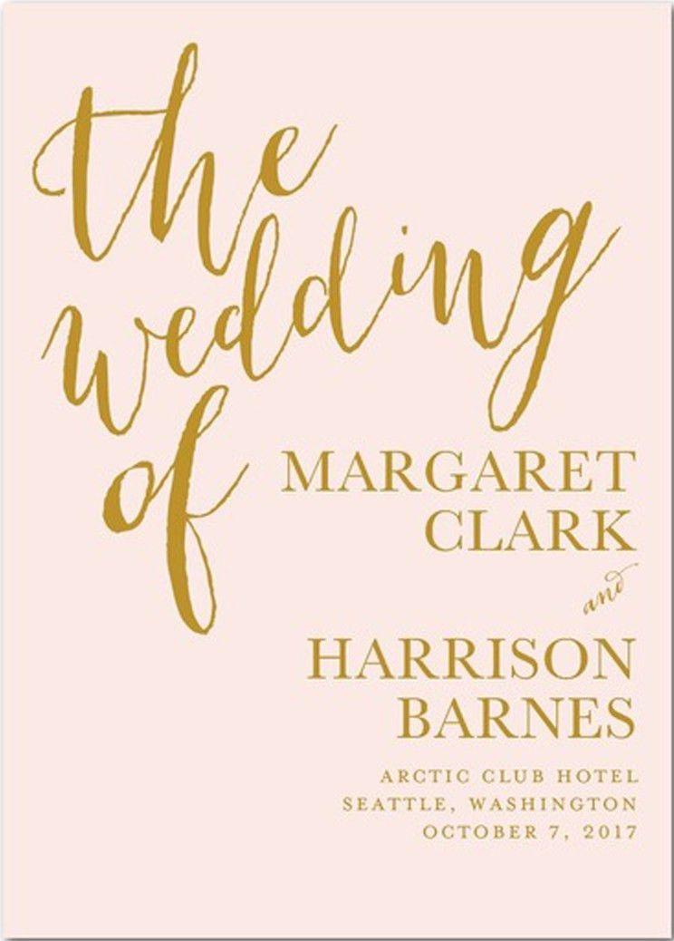 DIY Wedding Programs - The Basics - Wedding Planning - Wedding ...