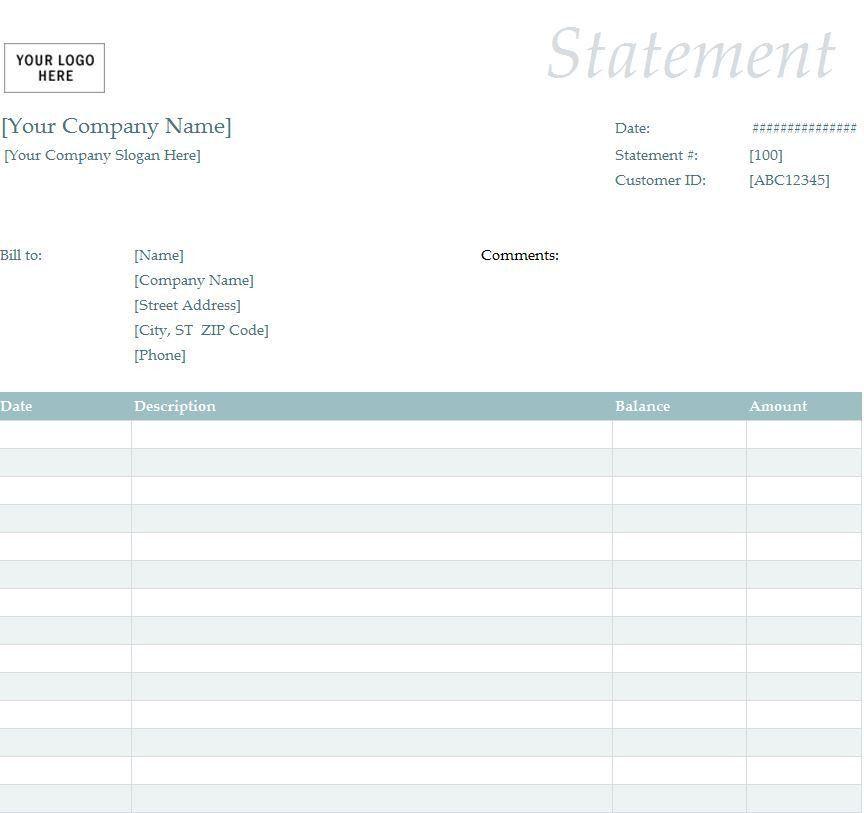 Download Tax Invoice Statement Template | rabitah.net