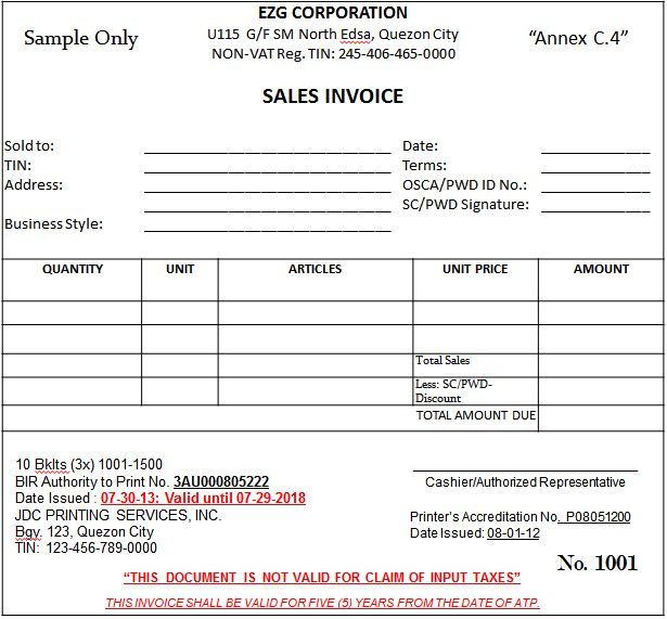 Download Sales Invoice Sample | rabitah.net