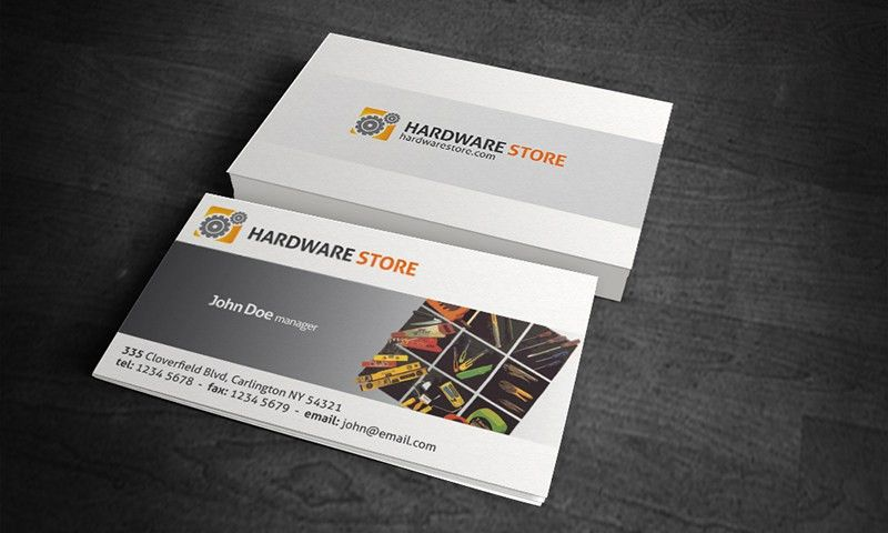 Free Business Card Templates » Hardware