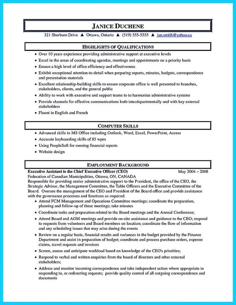 Administrative Assistant Resume Sample Objective Resume - Schoodie.com