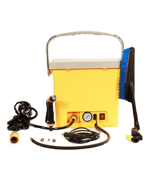 Home Pro High Pressure Portable Car Washer with built in Air ...