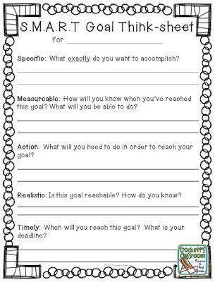 Best 10+ Goal setting worksheet ideas on Pinterest   Goals ...