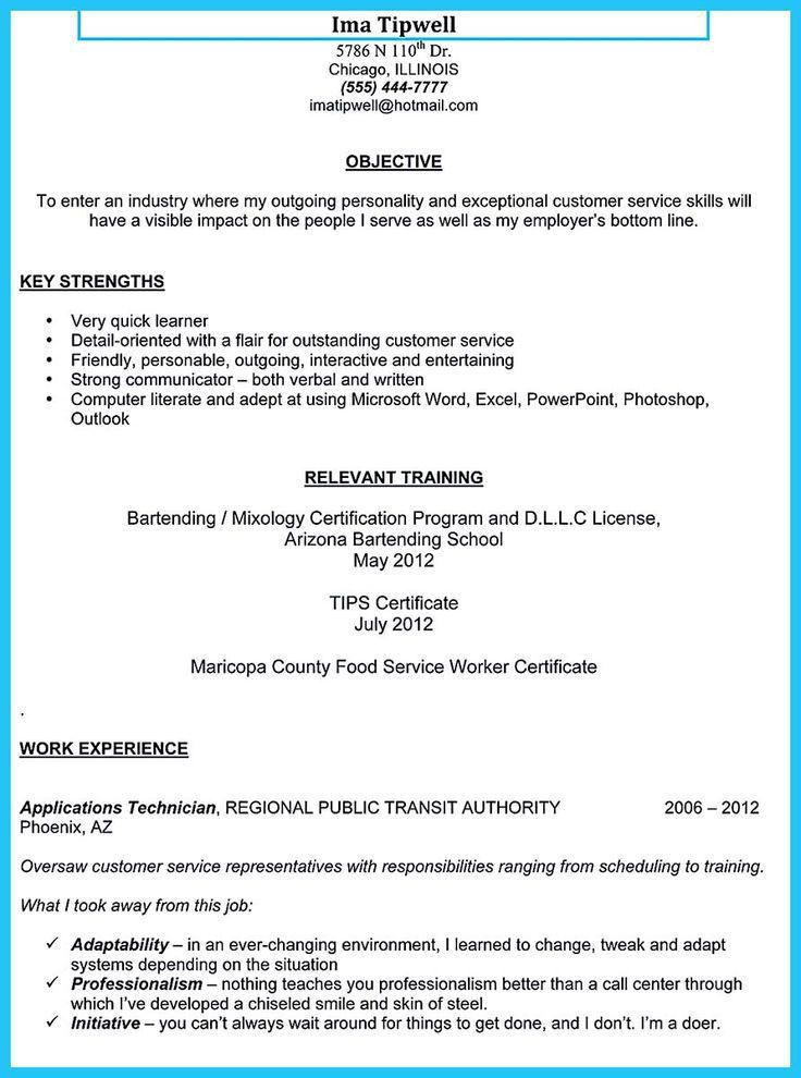 Resume no experience objective examples