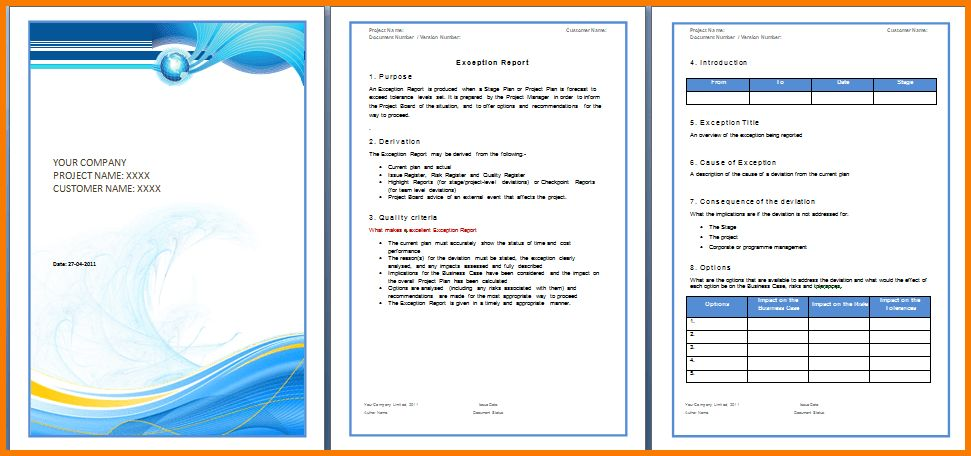 6 report template word | Receipt Templates