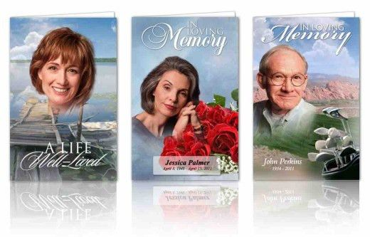 Create Funeral Programs online using easy editor