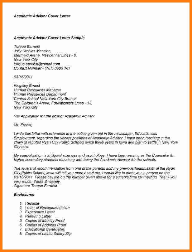 actress cover letter