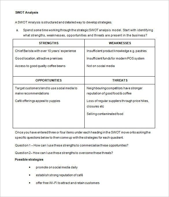 Business Action Plan Template – 10+ Free Sample, Example, Format ...
