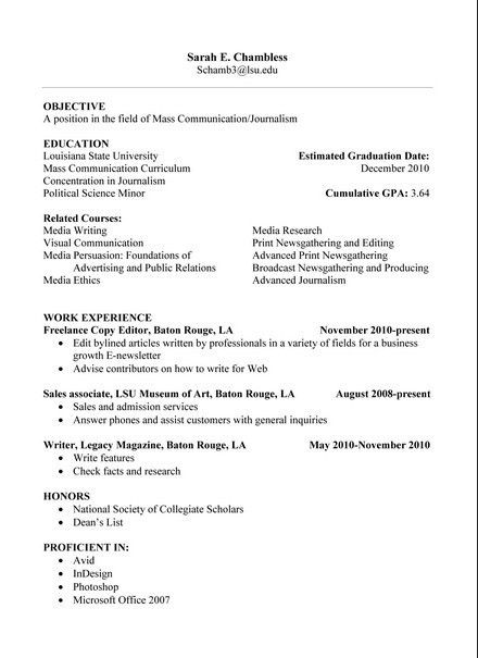 pinterest high school example of a resume for a college student ...