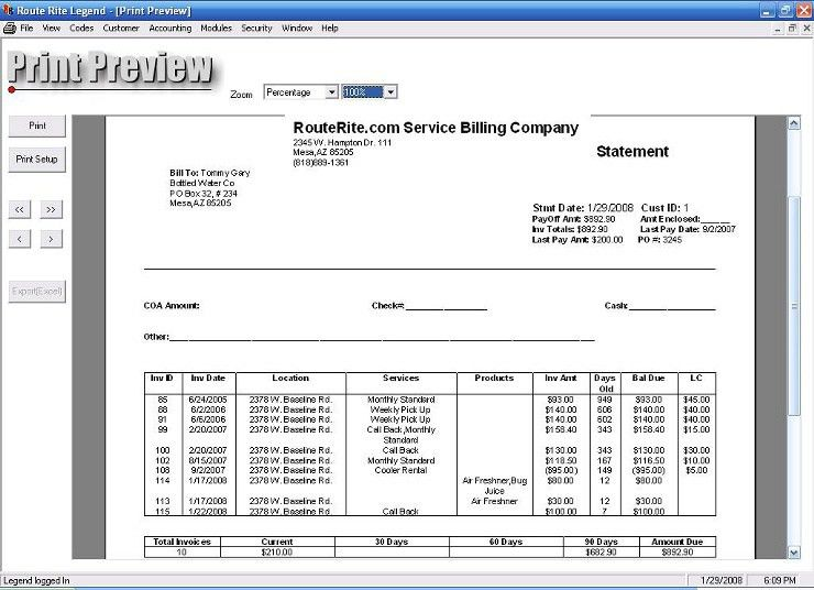 Pool and Cleaning Service with Route Rite Software Routing and Billing