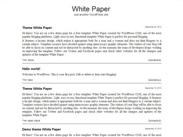 White Paper Template | peerpex