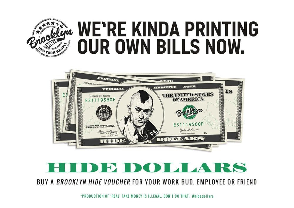 Why make money? Just print your own. — Haus