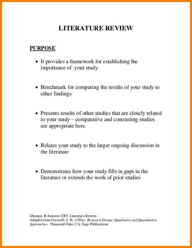 12+ literature review example mla | monthly bills template