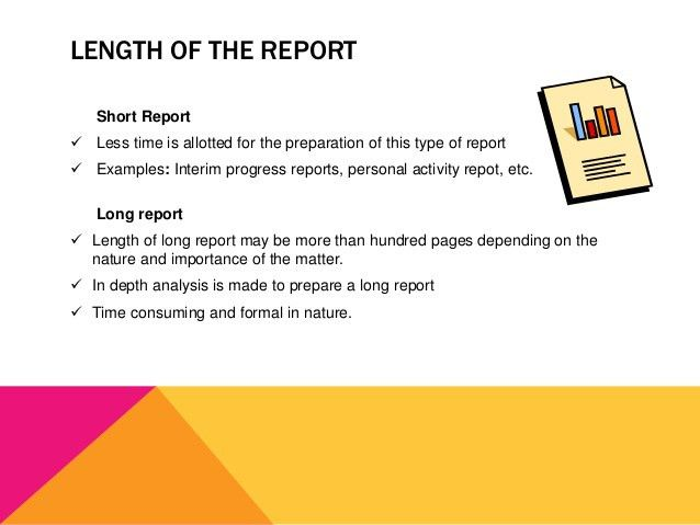 Classification of Business Reports