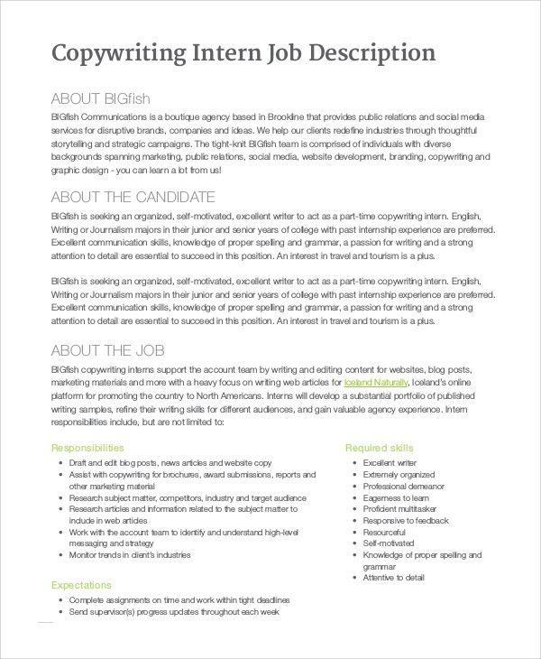 Social Work Intern Job Description. The 100 Most Useful Social ...
