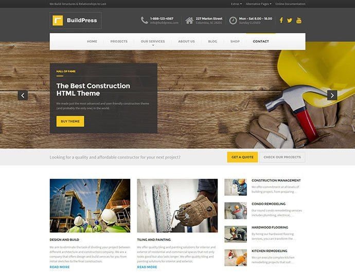 75 Best Business & Services Web Design Templates | Web & Graphic ...
