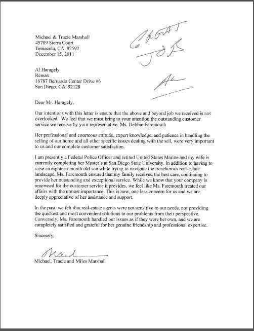 Letters of Recommendation » Debbie Faremouth Debbie Faremouth