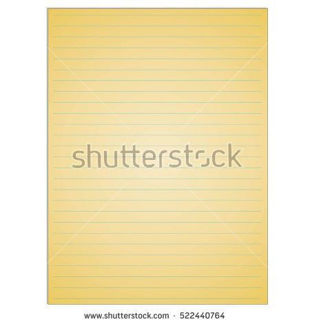 Notebook Pencil Vector Stock Vector 173563046 - Shutterstock