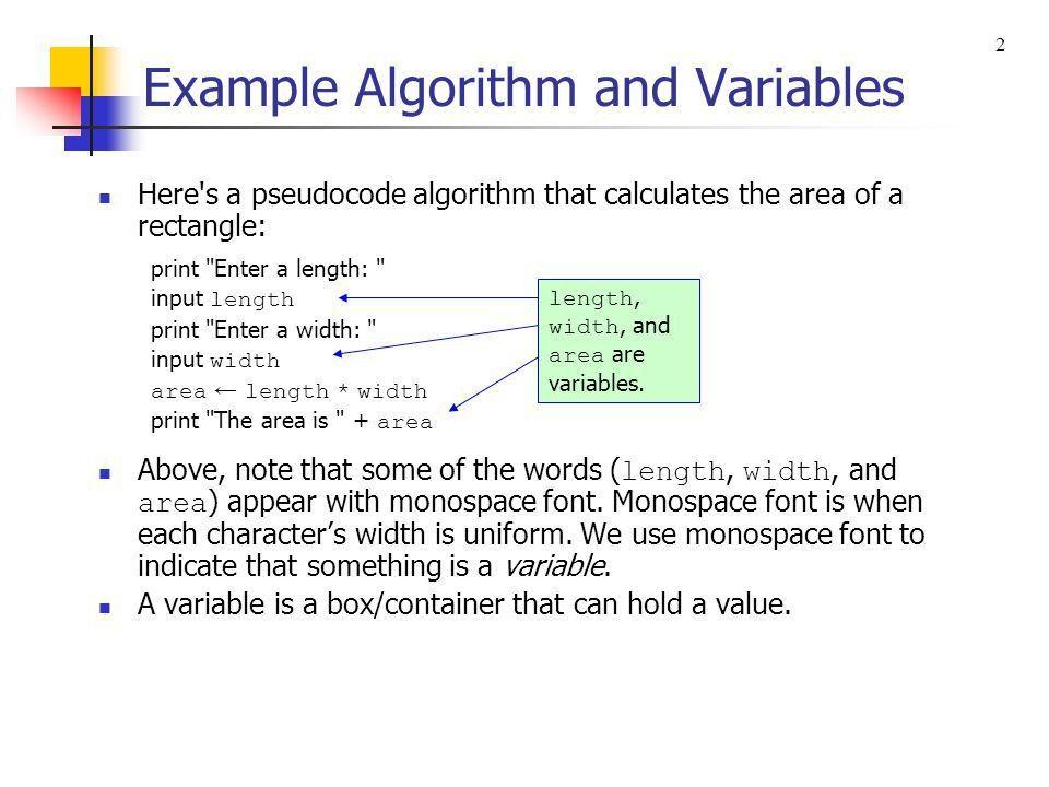 Chapter 2 - Algorithms and Design - ppt download