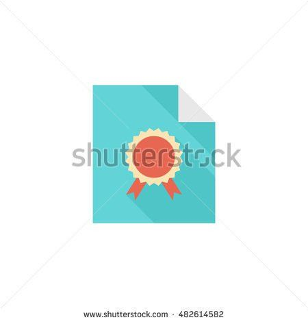 Contract Document Icon Doodle Sketch Lines Stock Vector 494199757 ...