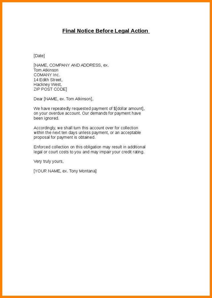 10+ legal notice letter format | ledger paper