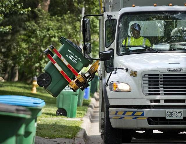 Truck driver shortage stymies trash day for Deffenbaugh and Town ...