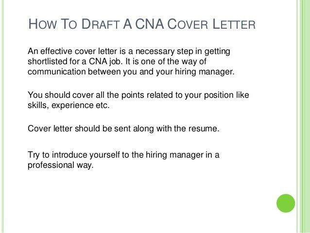 Best Ideas of Cover Letter Sample Nurse Aide On Reference ...