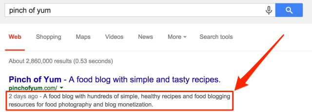 Meta Description - What it is and how it can help your blog | Food ...