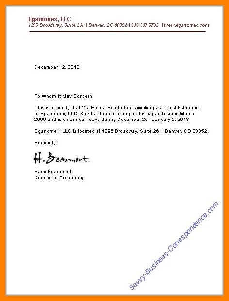 5+ concern letter for employee | science-resume