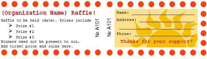 40+ Free Editable Raffle & Movie Ticket Templates | Prizes for ...