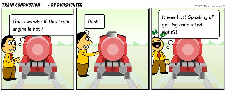 Train Conduction by rickrichter - ToonDoo - World's fastest way to ...