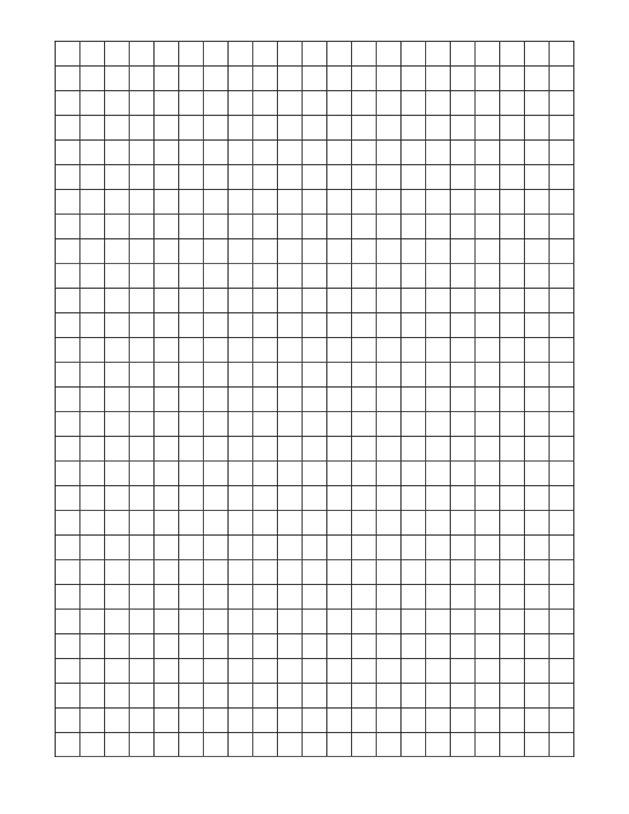 Full Page Printable Graph Paper | Printable Paper