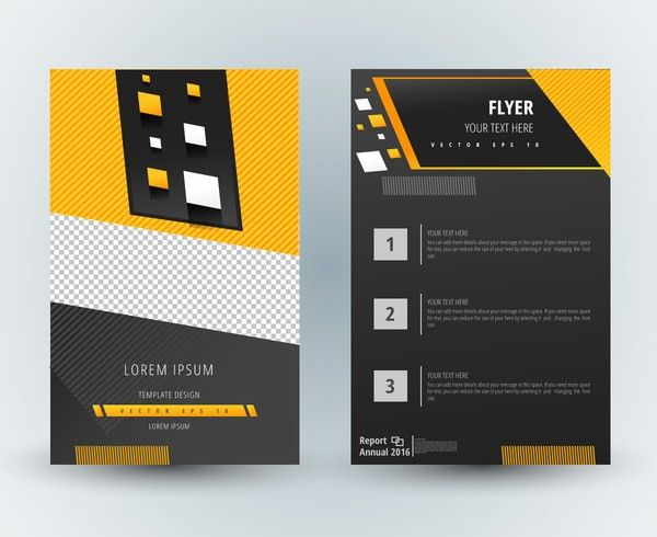 Illustrator Brochure Template. Professional Brochure Templates ...