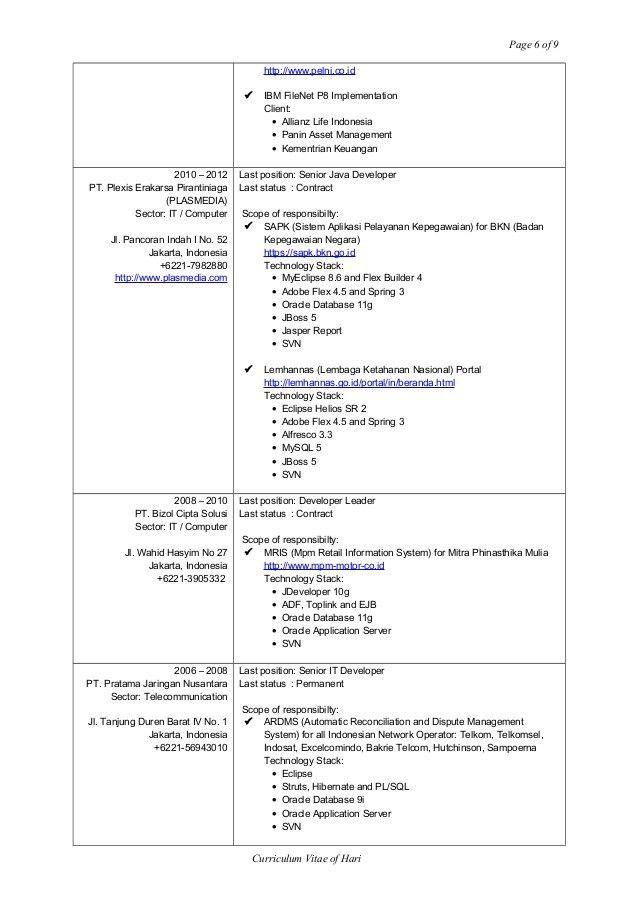 HARI CV AND RESUME