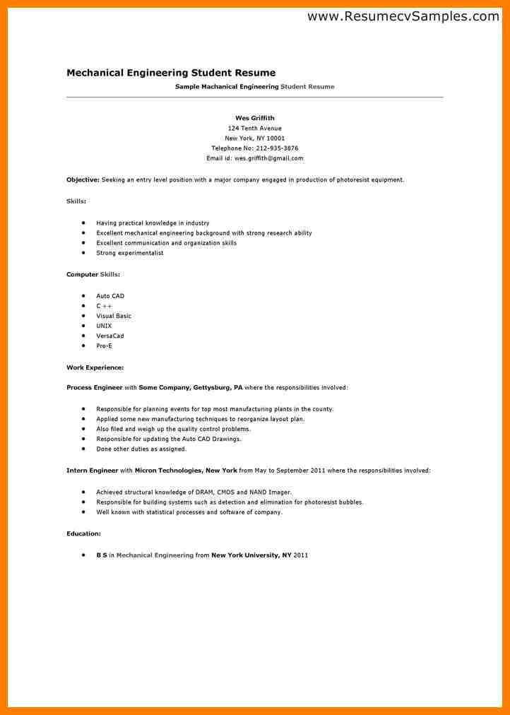 engineering student sample resume haadyaooverbayresortcom