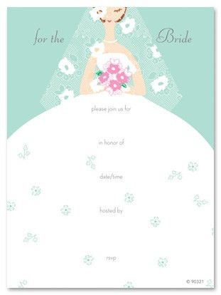 Fill In The Blank Bridal Shower Invitations - dhavalthakur.Com