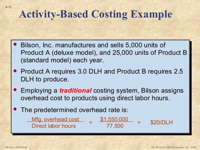 Topic 7a activity based costing sem 2 1516