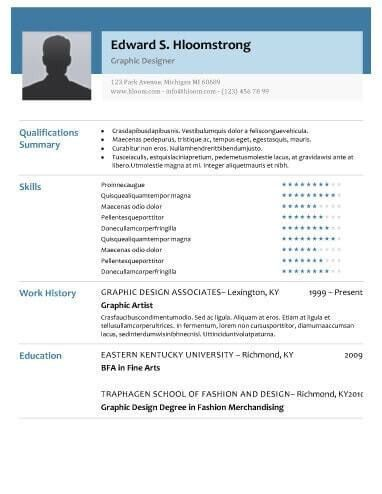 Impressive Modern Resume Template 12 Free Modern Resume Templates ...