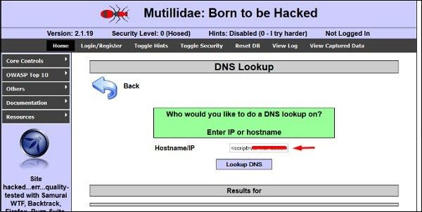 Ethical Hacking Cross-Site Scripting