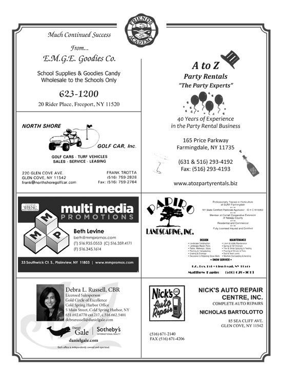 Friday Night Football Program Ads - This is the home of ...