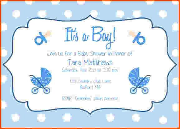 10+ free baby shower invitation templates for word | Survey ...