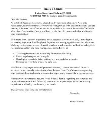 cover letter accounting assistant no experience