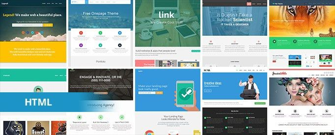 30+ Free Bootstrap HTML Templates | TemplateMag