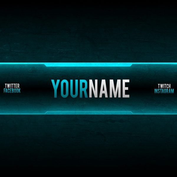 Free Youtube Banner Templates – Helmar Designs pertaining to ...