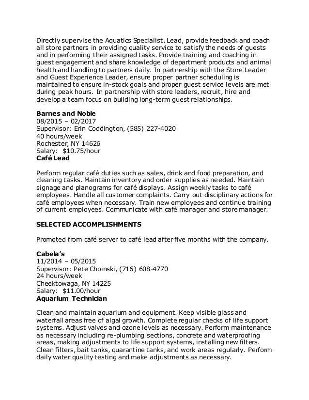 Complete Resume
