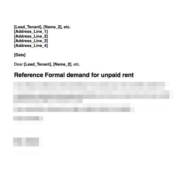 Rent arrears | GRL Landlord Association