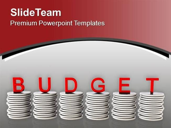 To Manage Money Make Budget Powerpoint Templates PPT Themes And Gr ...