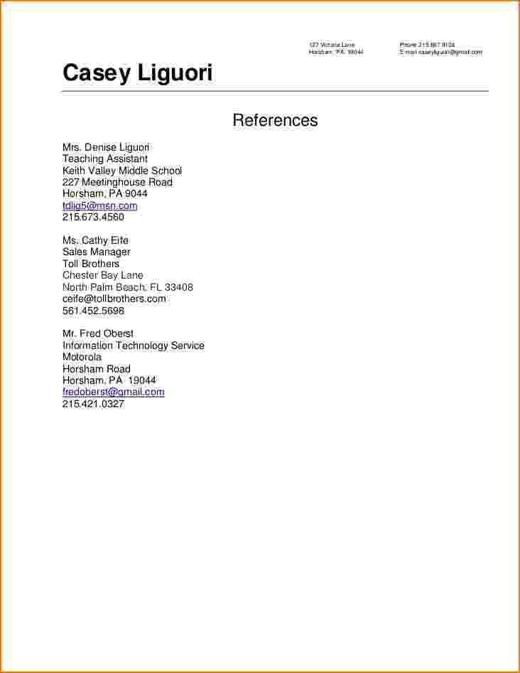 Resume Reference Template. Excellent Add References To Resume 39 ...