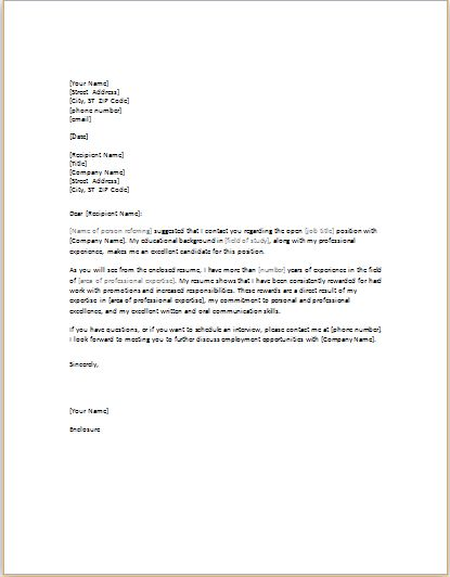 11 professional and business cover letter templates | Document Hub