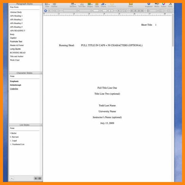 7+ apa format template | reporter resume